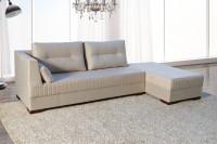 sofa Modulado Versátil 2.75m Suede Palha Fabricação Própria